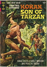 Korak Son of Tarzan Comic Book #12 Gold Key Comics 1966 FINE+