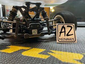 AZmechanics Team Losi racing TLR 22 4.0 5.0 laydown gearbox conversion kit