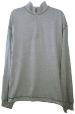 John Bartlett Consesus Pullover Sweater, Grey - X-Large Tag $55
