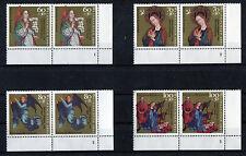 Bund 1578 - 1581 Formnummer Eckrand waagerechte Paare postfrisch alle mit FN