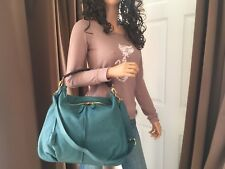 Authentic Louis Vuitton Lagon Mahina Leather Selene MM Shoulder Bag