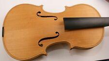 Beautiful Violin-in the white-21 years old-labeled Matteo Leonardo Torin 2009