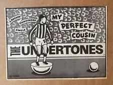 UNDERTONES MY PERFECT COUSIN MEMORABILIA original music press advert from 1980-