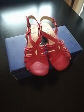 Caprice Damen Schuhe Gr. 4,5 / 37,5 Rot NEU mit Karton
