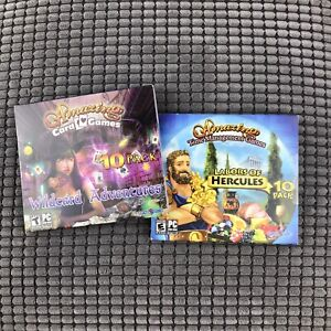 Amazing Time Management Games Hercules Card Game Wildcard Adventure Computer PC