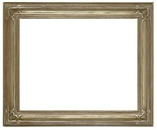 20 x 24 Arts & Crafts Style Picture Frame Hand Applied Gold Silver  Beautiful