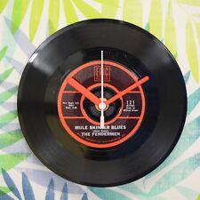 """Il Fendermen """"Mule Skinner Blues'S Retro Chic 7"""" Vinile Record Orologio da parete"""