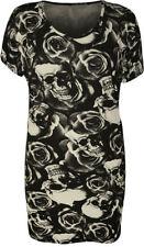 Maglie e camicie da donna a manica corta nero taglia 46