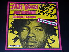 45 tours SP - JAH WOOSH - JUDY DROWNED  - 1974 - REGGAE