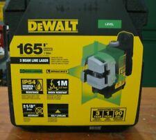 DEWALT DW089CG 3 Line Self Leveling Green Laser DEW-DW089CG