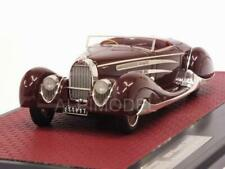 Bugatti Type 57C Cabriolet Vanvooren 1939 Maroon 1:43 MATRIX MX50205-033