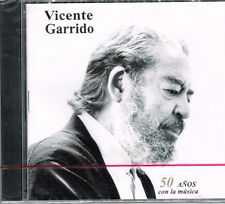 Vicente Garrido  50  Anos Con La Musica  BRAND NEW FACTORY  SEALED CD