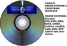 Vodavi Phone Systems CD Manual (Starplus Systems) Nice!