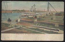 Postcard NORFOLK Virginia/VA  US Navy Yard Bird's Eye Aerial view 1906?