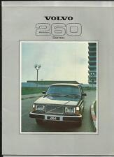 VOLVO 264GL, 264GLE, 265GL, 265GLE AND 262C SALES BROCHURE 1979
