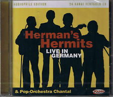 Herman 's Hermits Live in Germany 24 carats zounds Gold CD neuf emballage d'origine sealed