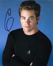 CHRIS PINE.. as Captain Kirk (Star Trek) SIGNED