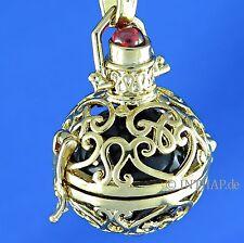 Gelbgold beschichtete Echte Edelmetall-Halsketten & -Anhänger ohne Steine mit Besondere Anlässe