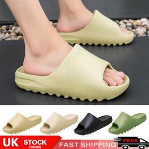 Womens Pillow Slides Flat Sandals Open Toe Summer Handmade Bohemian Flop Sandals