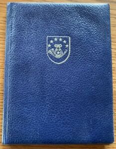 Congo (Kinshasa) Ministerbuch International Fernmeldevertrag 1965 MONTREUX