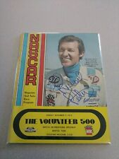 Richard Petty Signed Autographed 1975 The Volunteer 500 Program VINTAGE NASCAR