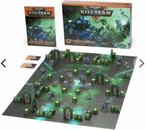 NEW Kill Team Pariah Nexus Game Board, tiles Cards Necron Terrain Warhammer 40k
