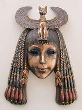Egyptian Wall Hanging Bast Bastet Cat Goddess Queen Priestess Mask #WU76324A4