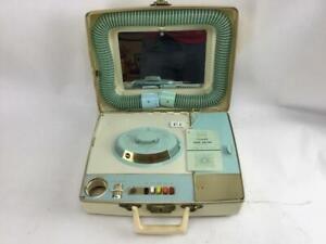 Sears Vintage Portable Deluxe Hair Dryer Soft Bonnet & Nail Dryer 8729 Works