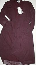 Noa Noa  Kleid Dress September Plum Perfekt Langarm  size: 38  Neu