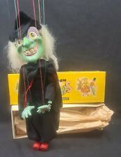 Pelham Puppets Wicked Witch 1960's Hand made In England Boxed