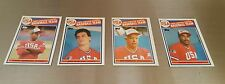 1985 TOPPS OLYMPIC CARDS MINUS MARK MCGUIRE #389 - 400 12 ROOKIE CARDS