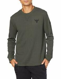 Under Armour Men's Project Rock Waffle Long Sleeve Green 3XL 1358757-310