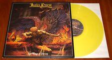 JUDAS PRIEST SAD WINGS OF DESTINY LP *RARE* YELLOW VINYL BOB UK PRESS 2010 New