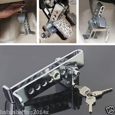 Auto Car Clutch Brake Lock Stainless Steel  Anti-Theft Security Supplies Device
