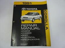 1991 TOYOTA COROLLA Auto Repair Manual RM196U - Free US Shipping