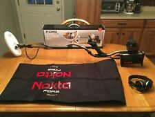 Nokta Fors Gold + Metal Detector- With Custom Carry Bag