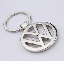 CAR Logo Key Chain Metal Double Sides Keychain Key Ring for VolkswagenFree Ship