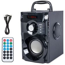 Tragbare Bluetooth Lautsprecher Soundbeat 2.0 USB SD AUX RADIO Fernbedienung