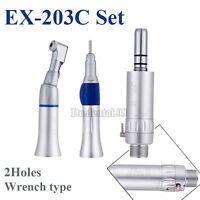 Dental 2Holes NSK Style Wrench E-type 1:1 Slow Low Speed Handpiece EX-203C Kit