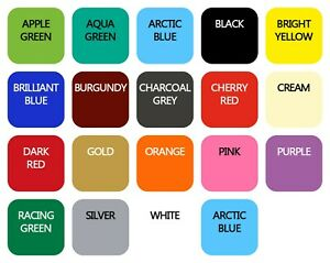 Wall Tile Vinyl Stickers 150mm Bathroom Kitchen 21 Colours Multipack