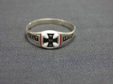 Erste Weltkrieg -Veteran Gedenk Silber Ring