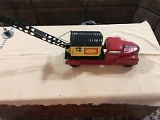 Vintage MARX Pressed Steel Magnetic Crane Truck Toy 1930's Excellent Condition!!