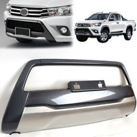 Fit 2016-2018 Toyota Hilux Revo 4x4 Decorative Front Bumper Guard