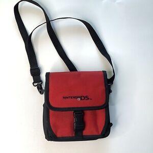 Original Nintendo DS Super Mario Black & Red Carry Travel Case Bag