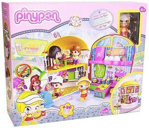Pinypon Playset Burguer Hamburgueseria de Pinypon con 1 Figura Juguete Niña Niño
