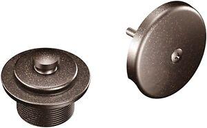 "Moen T90331orb 1-1/2"" Threaded Tub Drain Kit with Push-N-Lock Drain Assembly"