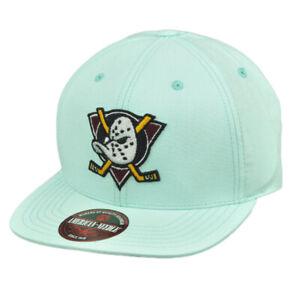 NHL American Needle Anaheim Ducks 20 Sun Buckle Hat Cap Flat Bill Mint Green