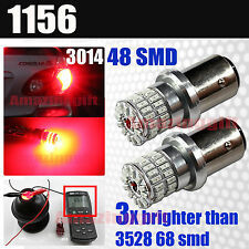 1156 High Power 3014 Chip 48 LED Turn Signal/Brake/Reverse Back Up Light Bulbs