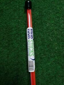 2 Stück Toursticks - Golf Alignment Sticks-Trainingshilfe