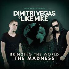 DIMITRI VEGAS & LIKE MIKE - BRINGING THE WORLD THE MADNESS 2 CD NEUF